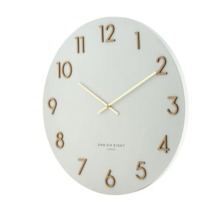 Kaylyn White 60Cm Metal Wall Clock - decorstore