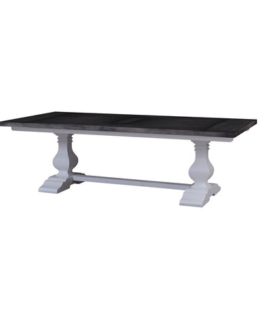 Trestle Dining Table  10 Feet Lrw Dig - decorstore