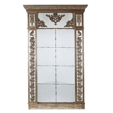 Large Antique Look Mirror - decorstore