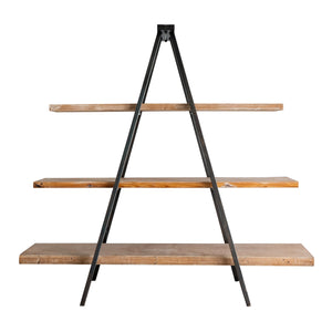 Pyramid Shelf Bookcase Unit-Tripod Case - decorstore