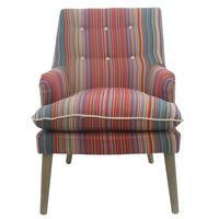 Santa Fe Chair Striped - decorstore