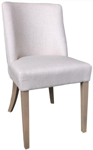 Ophelia Dining Chair Natural Beige - decorstore