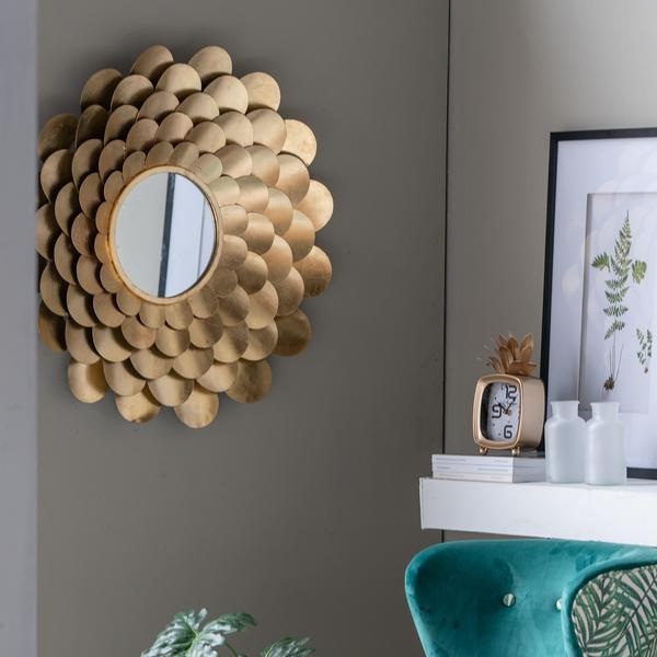 PETAL WALL MIRROR - decorstore