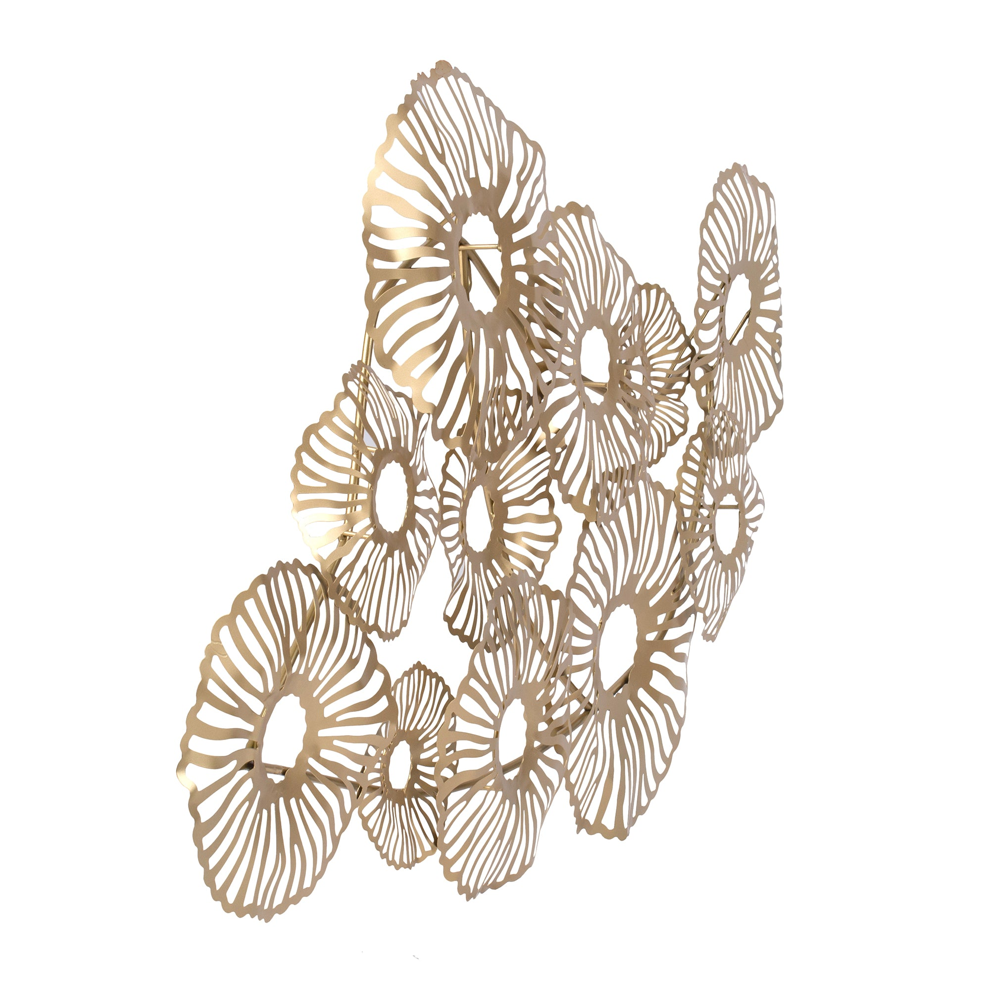 Flower Stencil Wall Art - decorstore