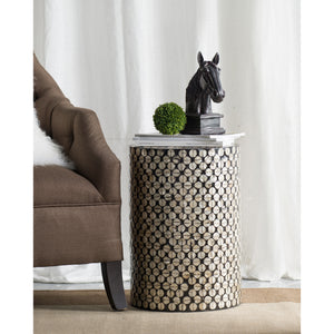 Sea shell round stool/Side table - decorstore