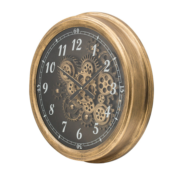 Metallic Explorer Wall Clock - decorstore
