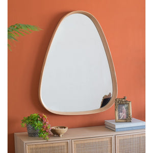 Oak Ovular Mirror - decorstore