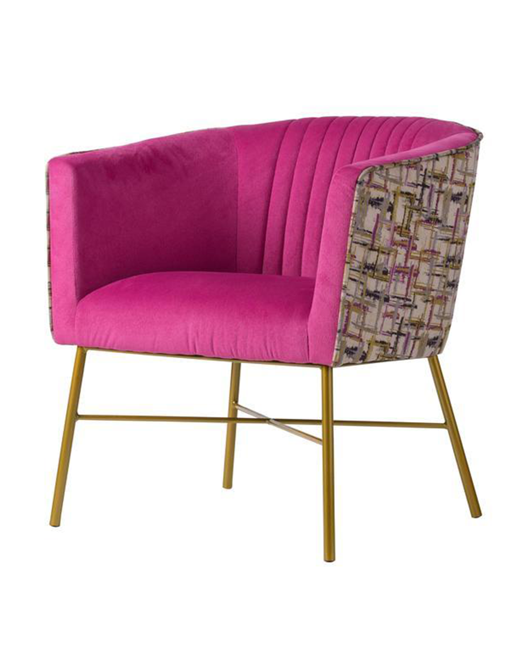 PINK VIBE ARMCHAIR - decorstore