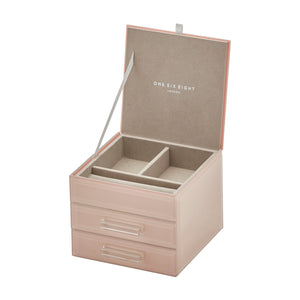 Cynthia Blush Small Jewellery Box - decorstore