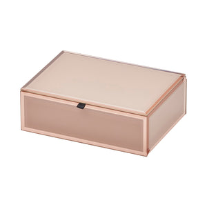 Layla Blush Medium Jewellery Box - decorstore