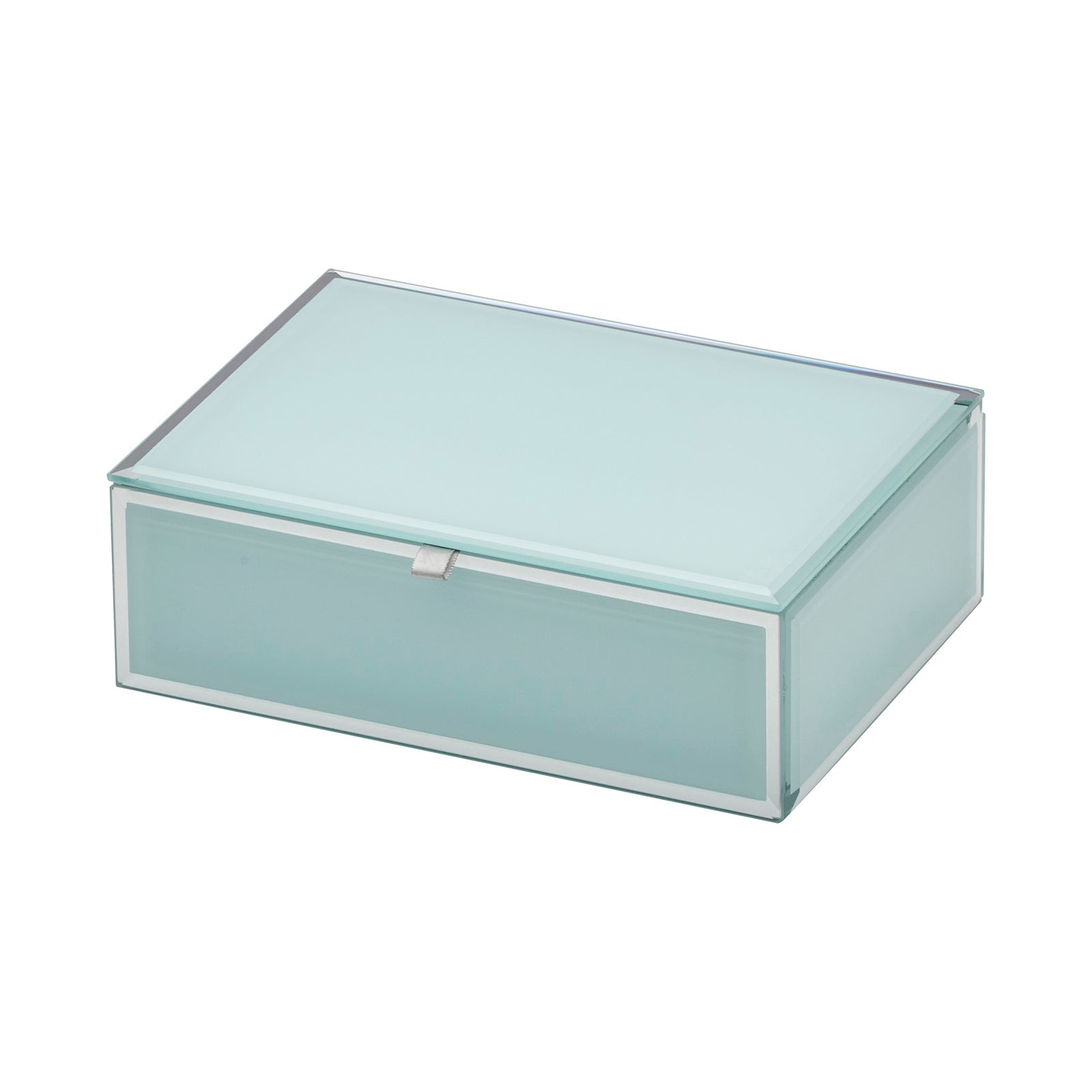 Ayla Mint Medium Jewellery Box - decorstore
