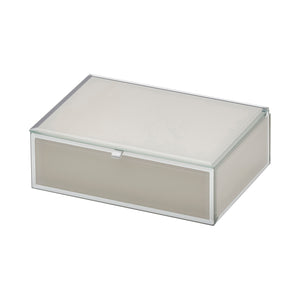 Ayla Nude Medium Jewellery Box - decorstore