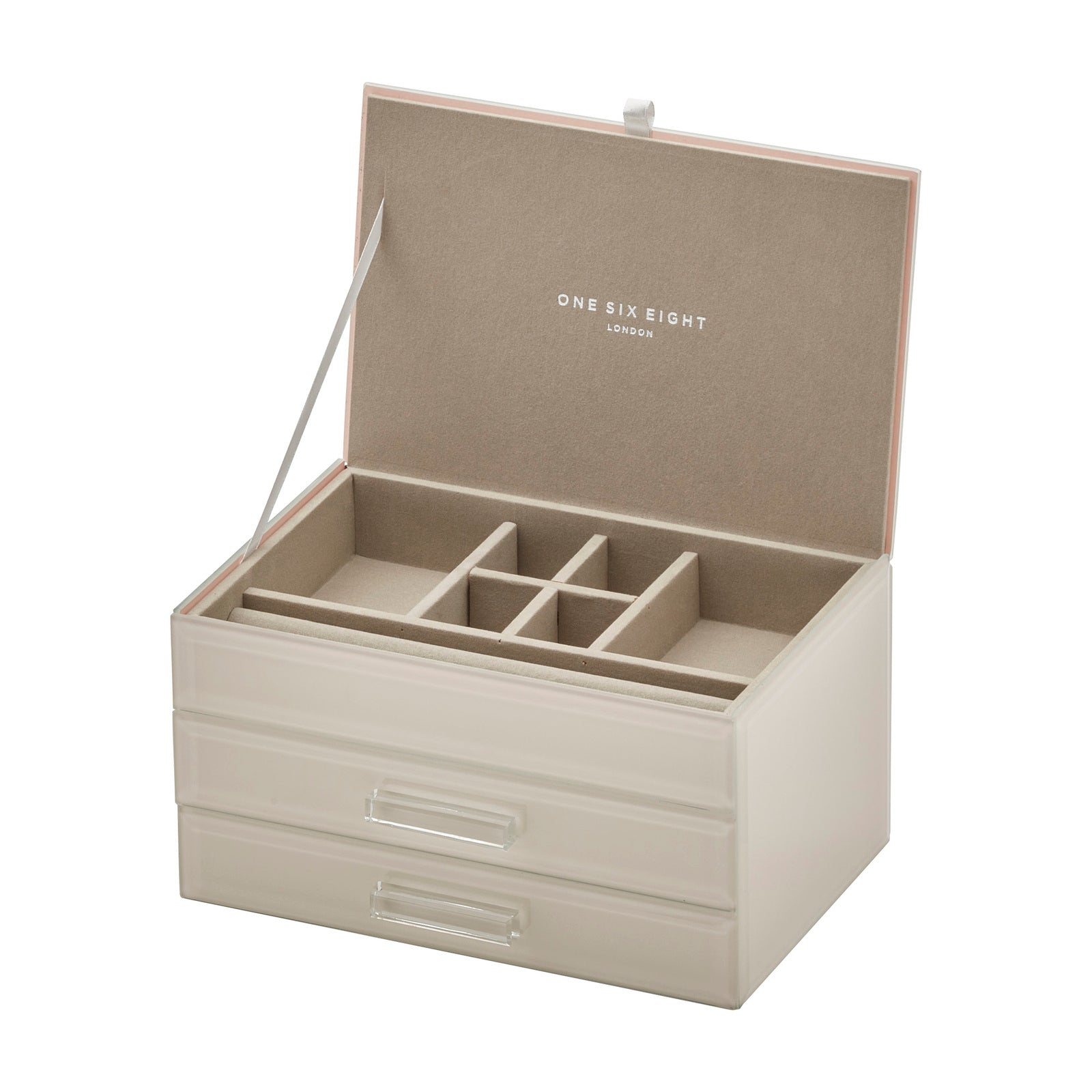 Cynthia Nude Medium Jewellery Box - decorstore