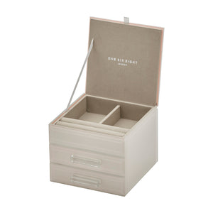 Cynthia Nude Small Jewellery Box - decorstore