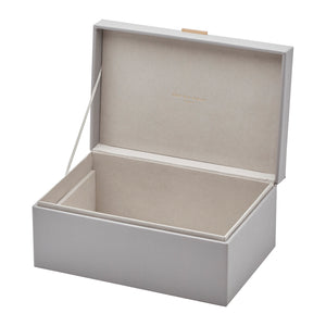 Rosalie Cool Grey Large Jewellery Box - decorstore