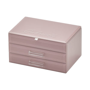 Cynthia Dusty Rose Medium Jewellery Box - decorstore