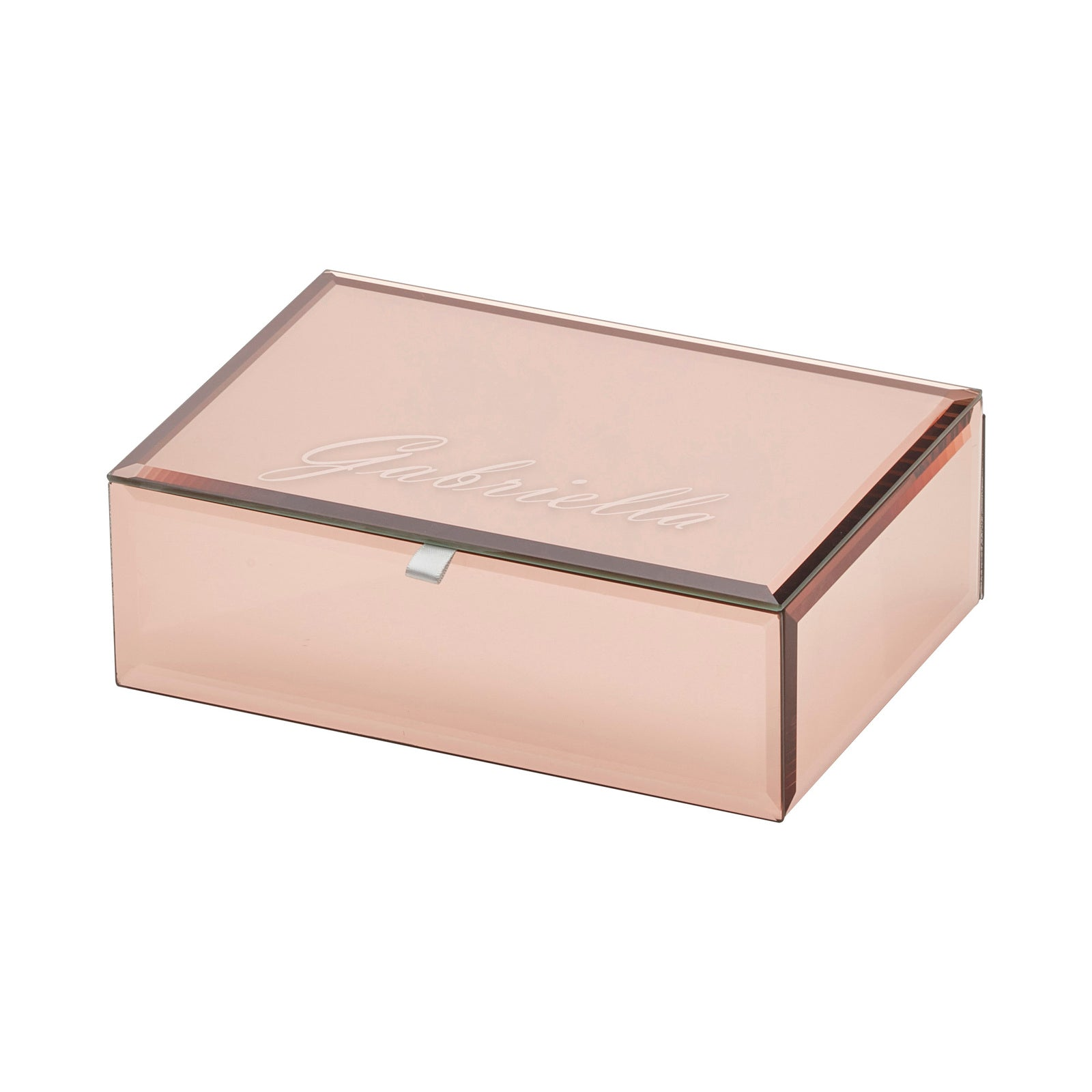 Ayla Rose Gold Medium Jewellery Box - decorstore