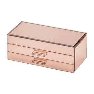 Cynthia Rose Gold Large Jewellery Box - decorstore