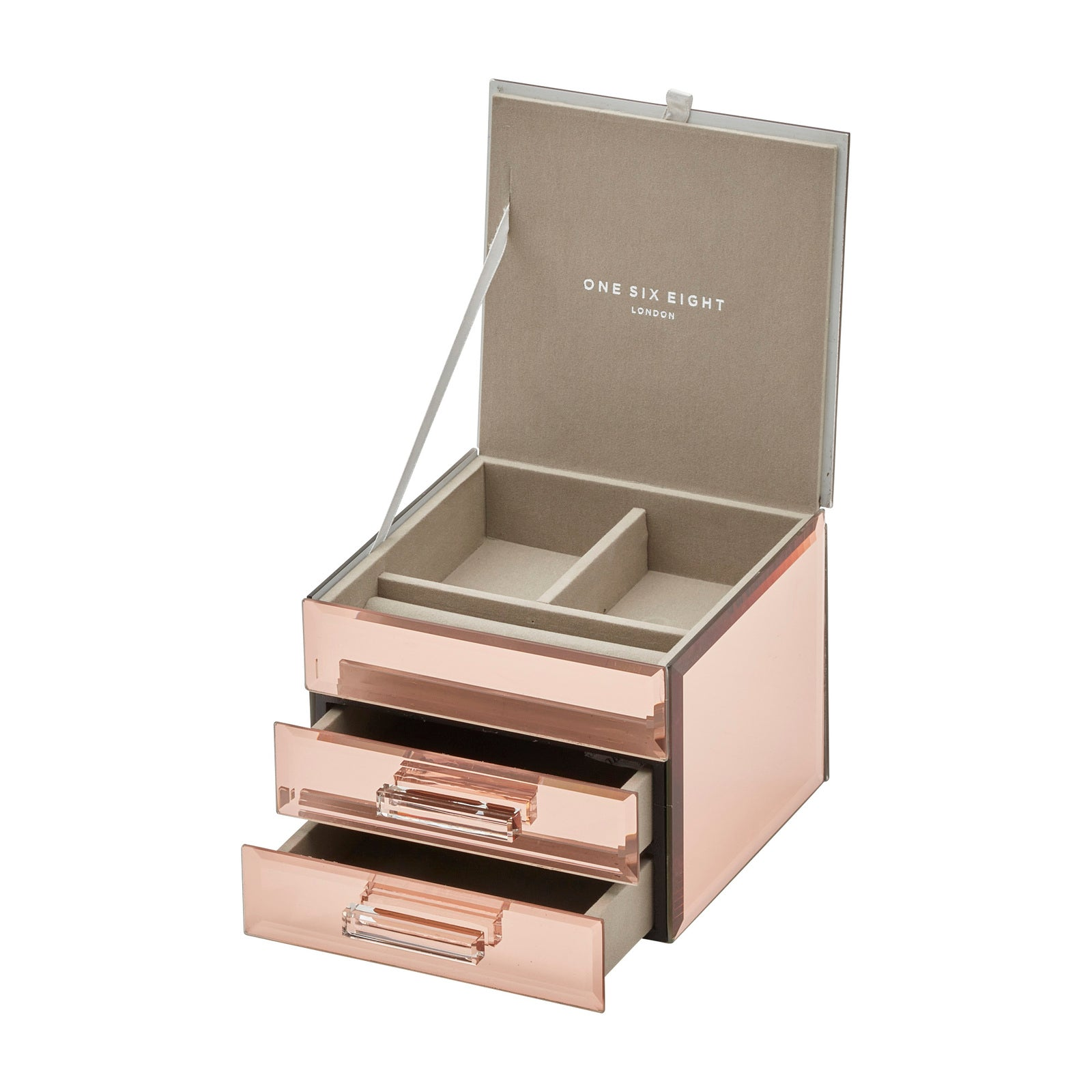 Cynthia Rose Gold Small Jewellery Box - decorstore