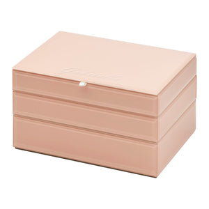 Stackable Jewllery Box With Lid - Blush - decorstore