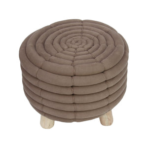 Dolly Ottoman Brown - decorstore