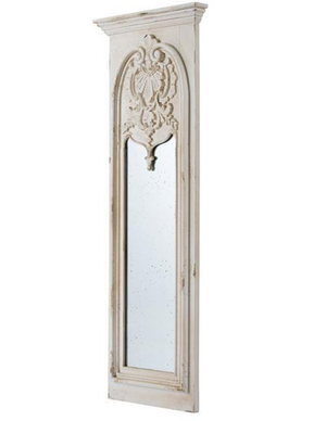 Shabby Chic Meets Ornate Mirror - decorstore