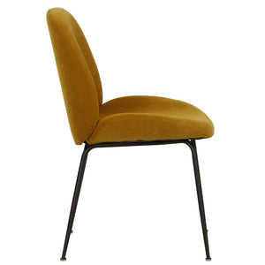 Gaia Dining Chair Mustard - decorstore