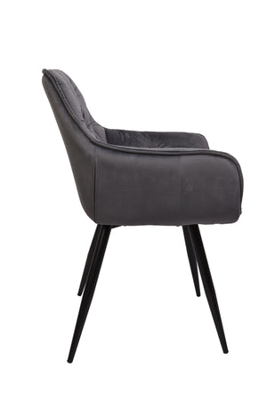 Adore Dining Chair Grey - decorstore
