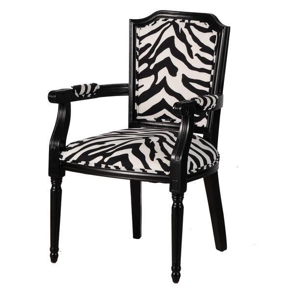 Zebra Throne Armchair - decorstore