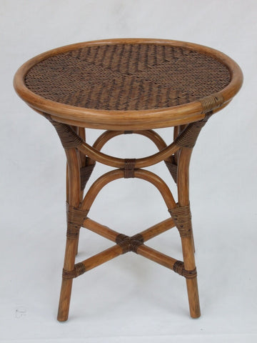 Anderson Side Table - Antique Rattan Pole - decorstore