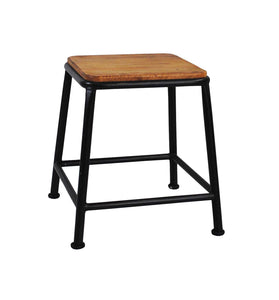 Black Bar Stool-Rusty - decorstore