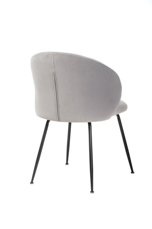 Cassia Dining Chair Light Grey - decorstore