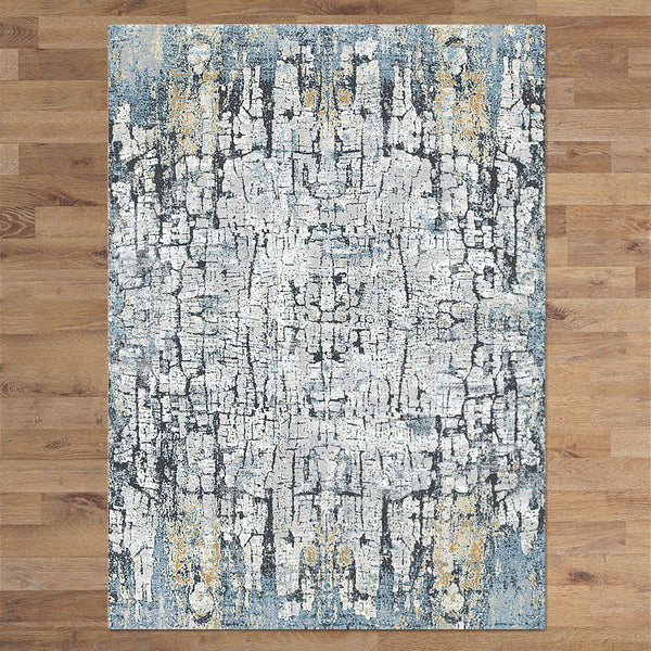 Charm 673 Dark Grey Turkish Rug - decorstore
