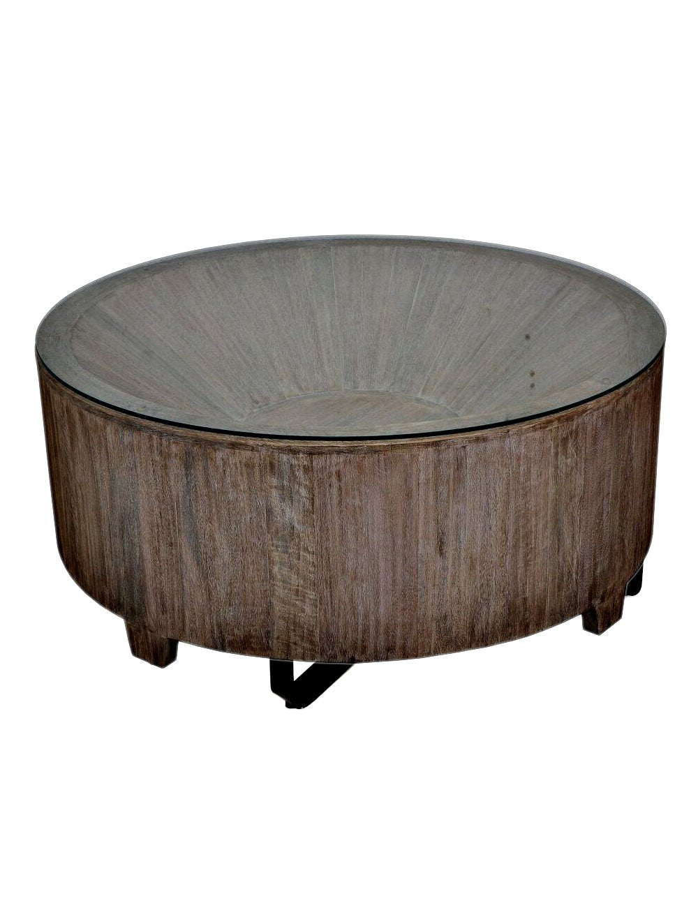 Corral Coffee Table-Teak Wood - decorstore