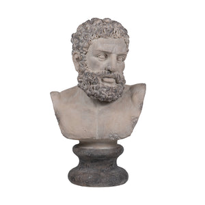 Bearded male bust sculpture - decorstore