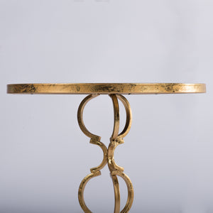 Brass And Marble Inspired Side Table - decorstore