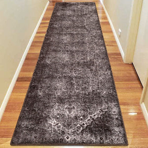 Fame 24 Dark Grey Turkish Rug - decorstore