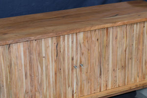 Rounded Handcrafted Hardwood Sideboard - decorstore