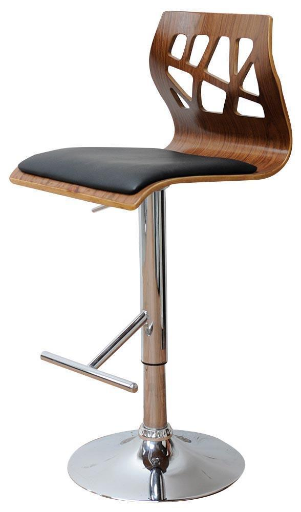 BELOW COST! - CUT OUT GAS LIFT BAR STOOL - decorstore