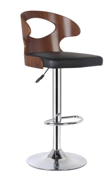 Cup Cut Out Gas Lift Bar Stool - decorstore