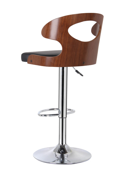 Cup Cut Out Gas Lift Bar Stool