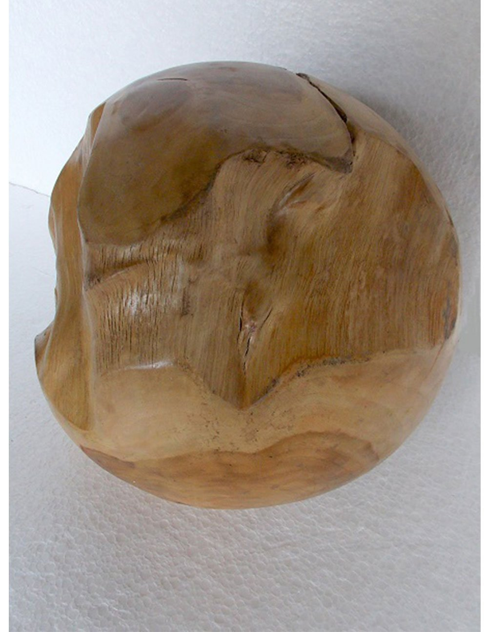 Akar Jati Teak Wood Ball - decorstore