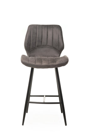 Tulla Bar Stool Grey - decorstore