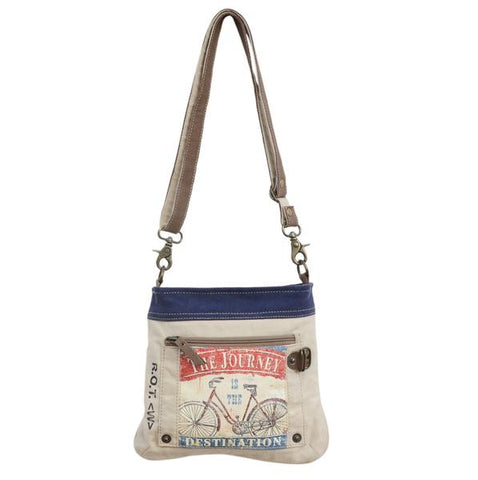 BICYCLE JOURNEY SMALL SATCHEL - decorstore