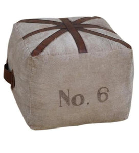 SQUARE PIN CUSHION OTTOMAN - decorstore