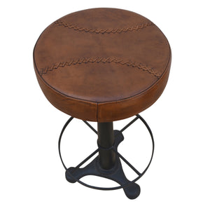 Leather Mit Bar Stool - decorstore