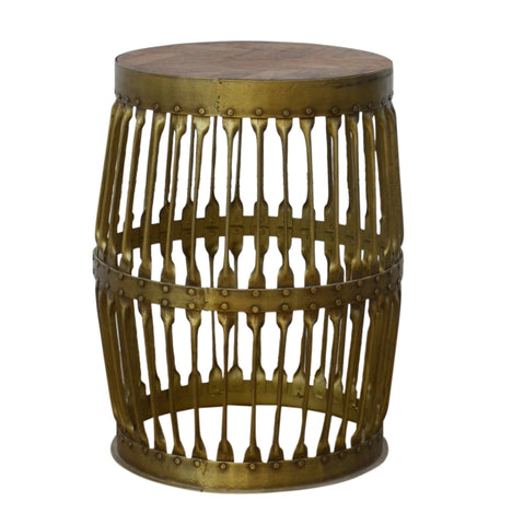 Small Wooden Stool - decorstore