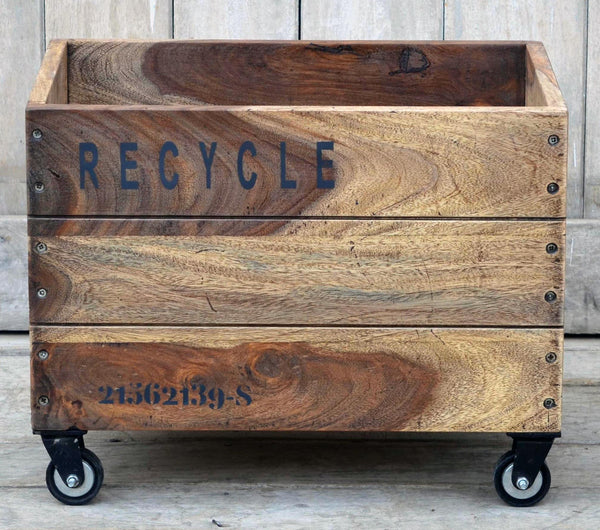 Wheely Recycle Storage Crate - decorstore