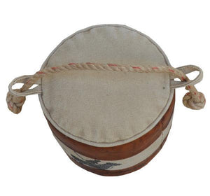 Canvas And Leather Polo Door Stopper - decorstore