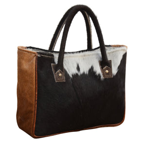 Multi-Cowhide Sling It Handbag - decorstore